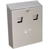 Sealey Stainless Steel Wall Mounted Cigarette Bin