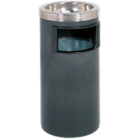 Sealey Metal Litter Bin and Integrated Ashtray