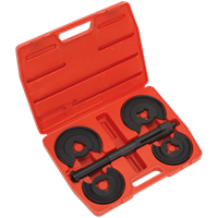 Sealey Telescopic Spring Compressor Set for Wishbone Suspension