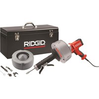 Ridgid K45 Variable Speed Drain Cleaning Gun and Accessory Set