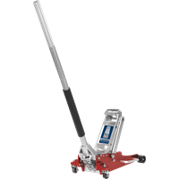 Sealey Low Entry Aluminium Rocket Lift Trolley Jack