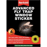 Rentokil Advanced Window Fly Traps