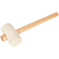 Sealey White Rubber Mallet
