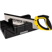 Roughneck Mitre Box and Hardpoint Tenon Saw Set