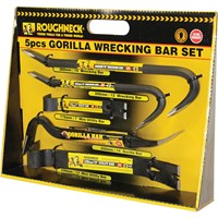 Roughneck 5 Piece Gorilla Wrecking Bar Set