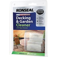 Ronseal 2 Capsules Decking Cleaner