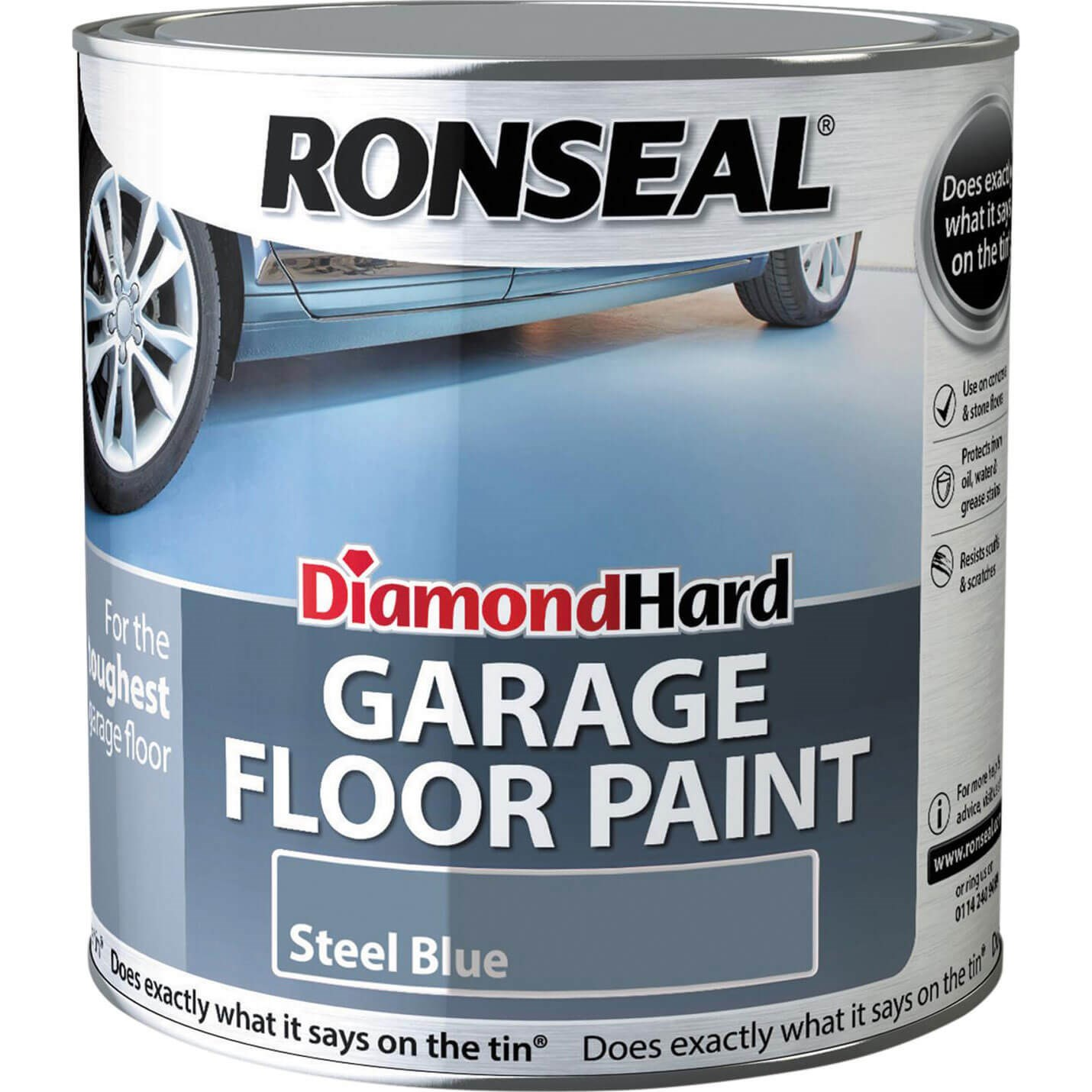 Ronseal Diamond Hard Garage Floor Paint Floor Paints