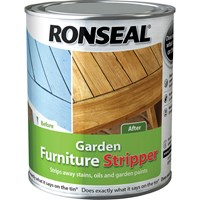 Ronseal Garden Furniture Oil and Paint Stripper