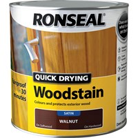 Ronseal Quick Dry Satin Woodstain