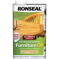 Ronseal Ultimate Protection Hardwood Garden Furniture Oil