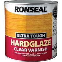 Ronseal Ultra Tough Internal Clear Hardglaze Varnish