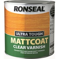 Ronseal Ultra Tough Internal Clear Mattcoat Varnish