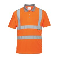 Portwest Mens Class 2 Hi Vis Polo Shirt