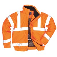 Oxford Weave 300D Class 3 Breathable Hi Vis Bomber Jacket