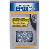 Rust Oleum Decorative Flakes for Epoxy Floor Paint