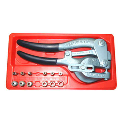 whitney no5 junior sheet metal hole punch set imperial