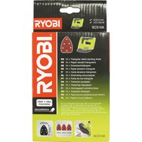 Ryobi SCS10A 10 Piece Corner Sander Sheet Set for R18PS & CCC1801M