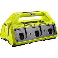 Ryobi RC18627 ONE+ 18v 6 Port Li-ion Battery Charger