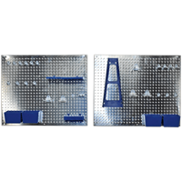 Siegen 34 Piece Wall Storage Pegboard Set