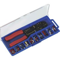 Siegen Crimping Tool & Assorted Terminal Set