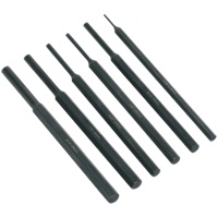 Siegen 6 Piece Parallel Pin Punch Set