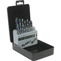 Siegen 19 Piece HSS Titanium Coated Drill Bit Set