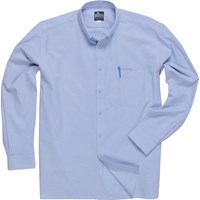 Portwest Mens Oxford Long Sleeved Shirt