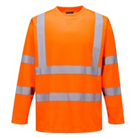 Portwest Long Sleeved Class 3 Hi Vis T Shirt