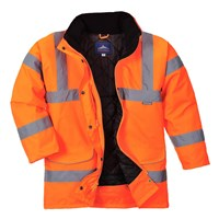 Oxford Weave 300D Womens Class 3 Hi Vis Traffic Jacket