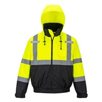 PW2 Hi Vis Premium 3 in 1 Bomber Jacket