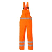 Oxford Weave 300D Class 2 Hi Vis Bib and Brace