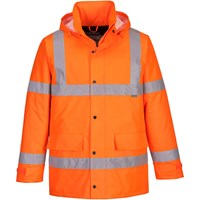 Oxford Weave 300D Class 3 Hi Vis Traffic Jacket