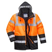 Oxford Weave 300D Class 3 Hi Vis Two Tone Traffic Jacket