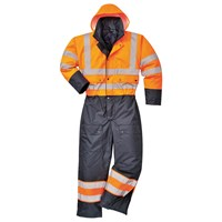 Oxford Weave 300D Class 3 Hi Vis Contrast Overall