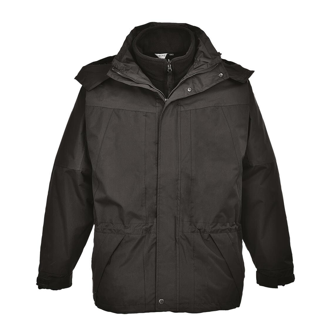 Image of Aviemore Mens 3-in-1 Waterproof Jacket Black 2XL