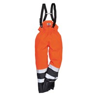 Biz Flame Hi-Vis Flame Resistant Rain Multi Protection Trousers