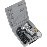 "Sealey SA2/TS 1/2"" Drive Air Impact Wrench Kit"