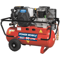 Sealey SA5040 Belt Drive Petrol Air Compressor 50 Litre