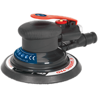 Sealey SA801 Dust Free Palm Air Sander 150mm Disc