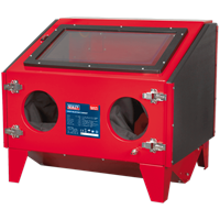Sealey SB970 Double Access Sand Blasting Cabinet FREE Blasting Beads Worth £105.95