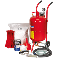 Sealey SBKIT Shot and Soda Blasting Kit