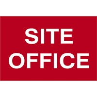 Scan Site Office Sign