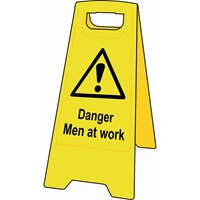 Scan Heavy Duty A-Board Sign - Men At Work