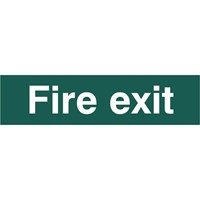 Scan Fire Exit Sign