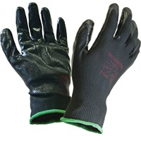Scan Inspection Gloves Black Pack of 12