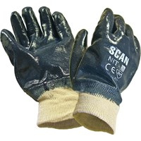 Scan Nitrile Heavy Duty Gloves