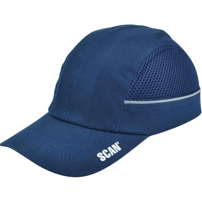 scan safety bump cap black