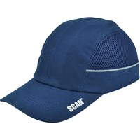 Scan Safety Bump Cap Black