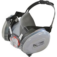Scan Twin Half Mask Respirator + P2 Cartridges
