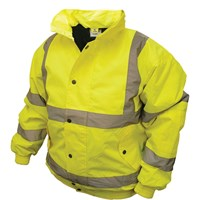 Scan Mens High Vis Bomber Jacket